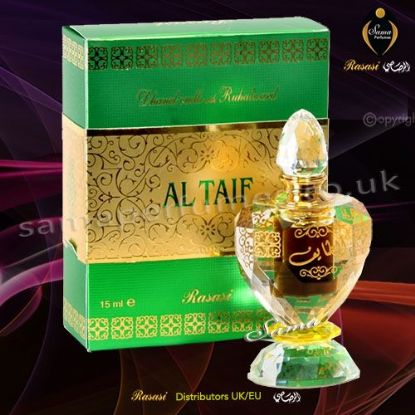 AL TAIF EXCLUSIVE PERFUME OIL 15 ml - Rasasi UK & EU Distributors